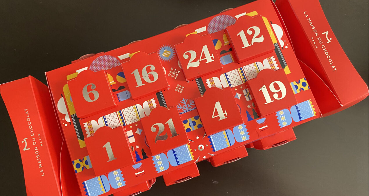 La Maison du Chocolat de Paris' Advent Calendar is Delicious Fun